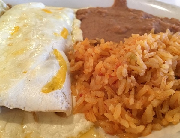 enchiladas rice beans meal dinner lunch mexican food_4957491659648811747