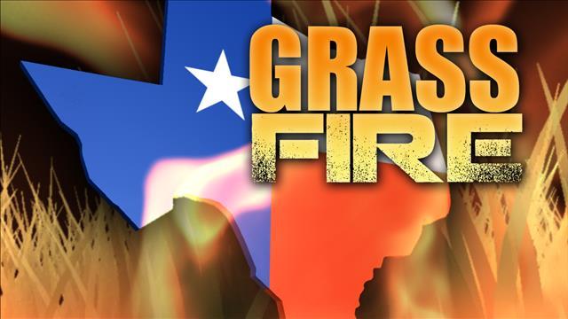 Texas Grass Fire