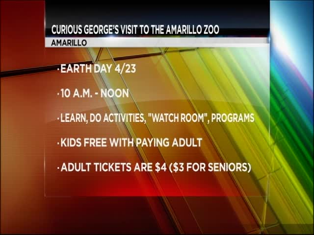 Curious George Visits the Amarillo Zoo for Earth Day_20160422124307