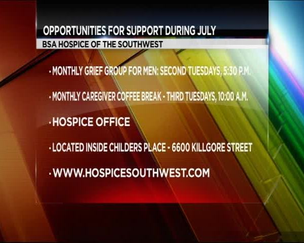 BSA Hospice of the Southwest- Support Groups in July_20160627121804