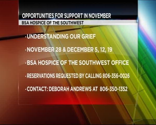 BSA Hospice of the Southwest Opportunities for Support