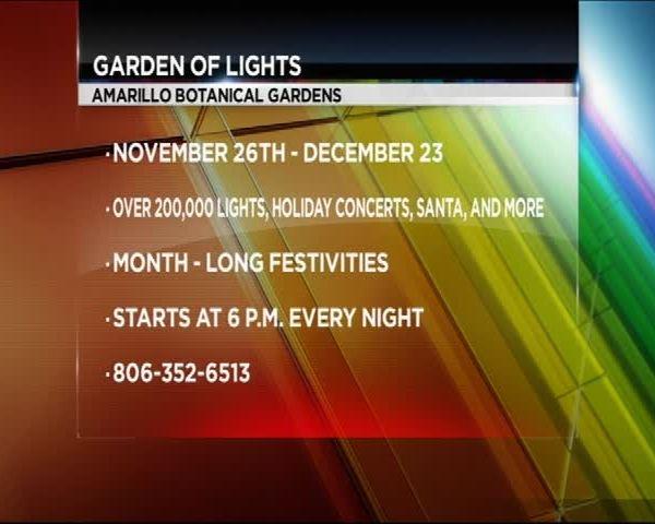 Amarillo Botanical Garden's Garden of Light