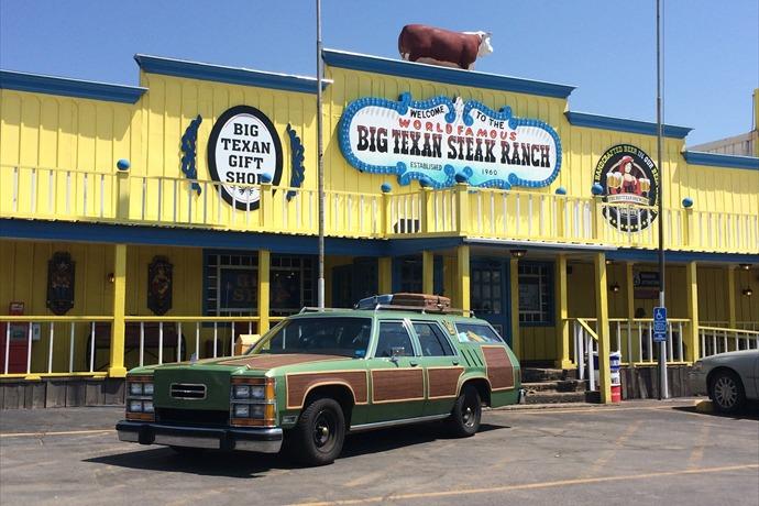 The Big Texan Hosts Talk Show and Unique Movie Memorabilia _-6404381587206028880
