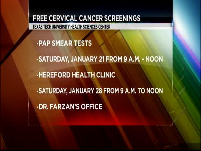Free Cervical Screenings at TTUHSC