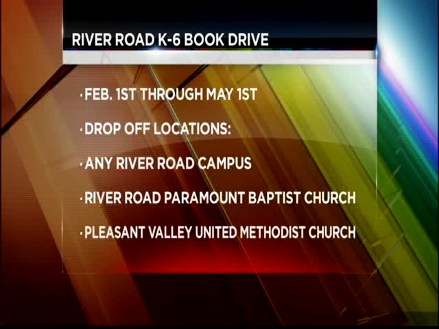 River Road High School Book Drive_63183546