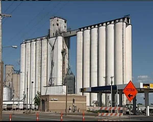 Officials to Let Grain Elevator Fire in Hereford Burn