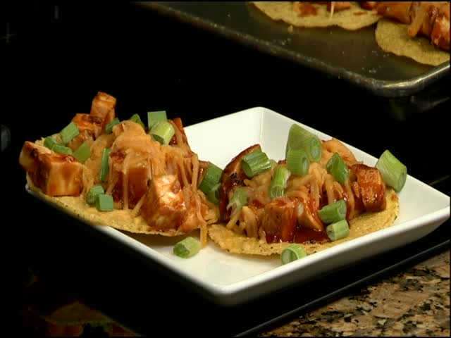 BBQ Chicken Tostadas_58863286
