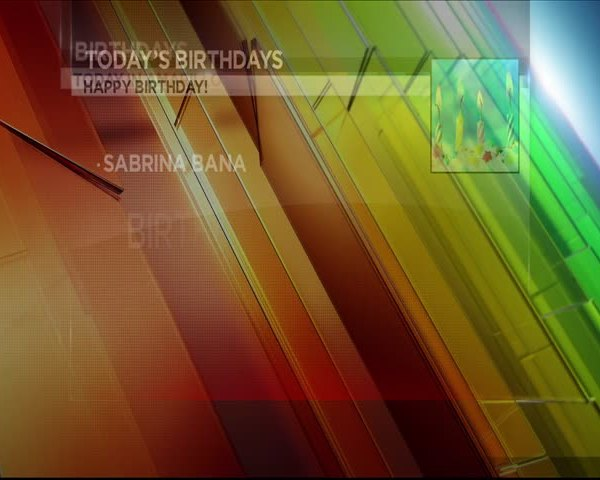 Today's Birthdays 7/5/17