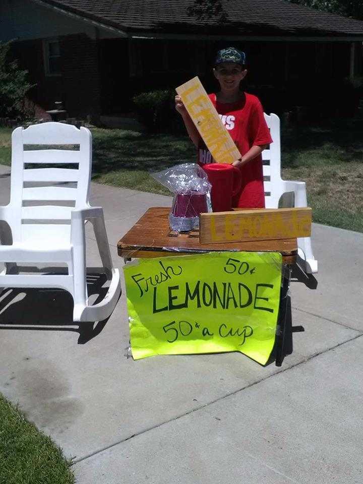 Hunter Albonico Lemonade Stand