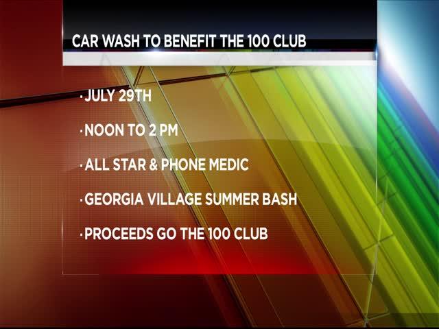 Upcoming Car Wash to Benefit 100 Club