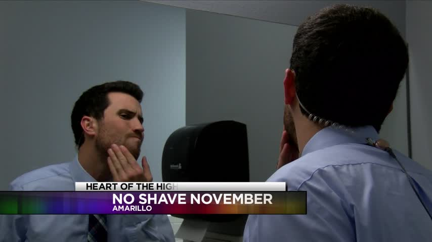 Clint and Dave Take Part in No Shave November_98901438