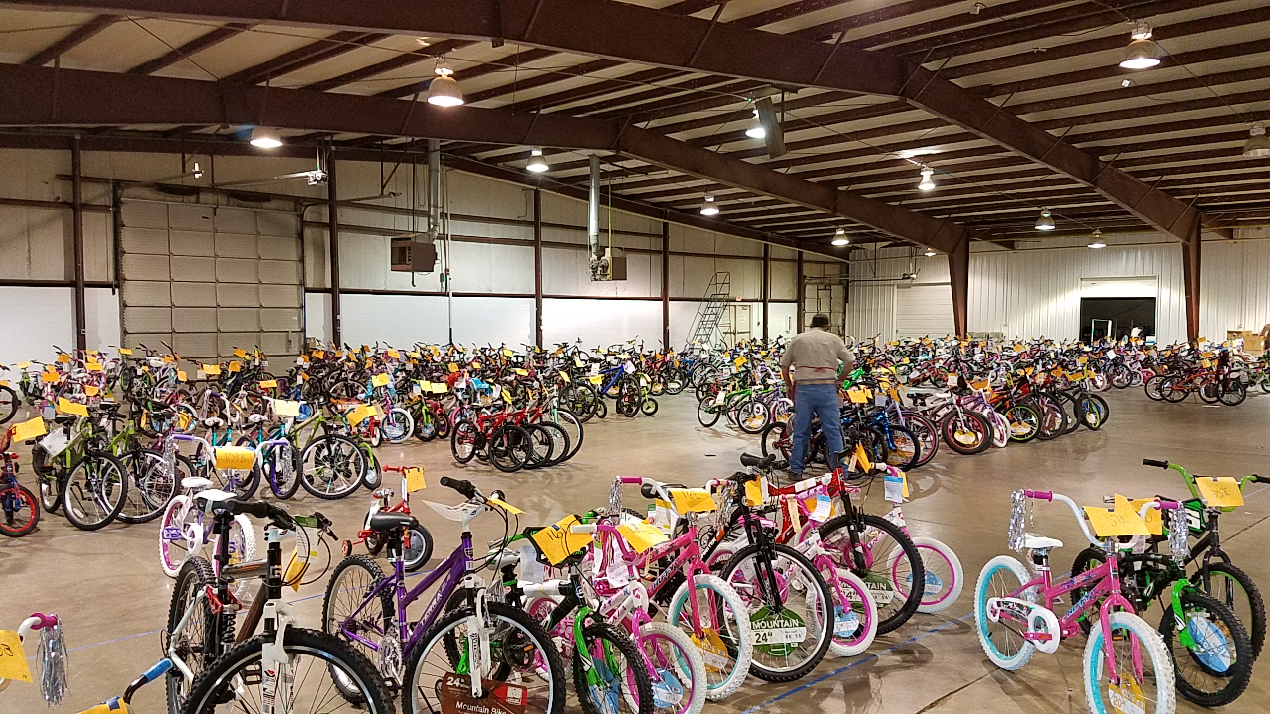 Salvation Army Bicycle Donations