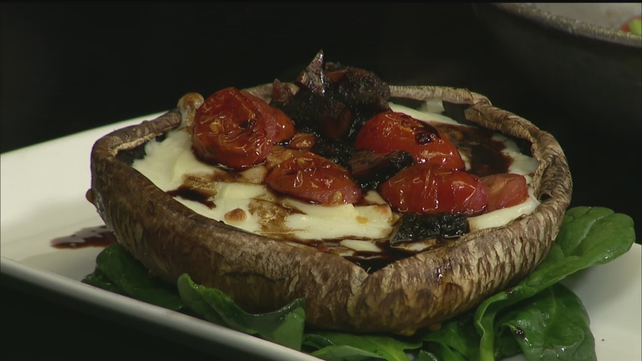 Cooking with Coleman: Stuffed Mushroom Part 2