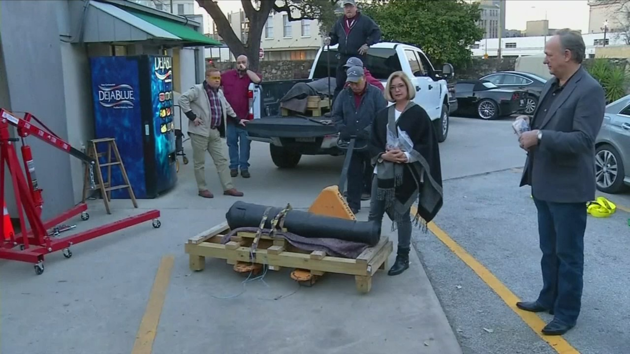 #OnlineToday - Cannon Returned to the Alamo