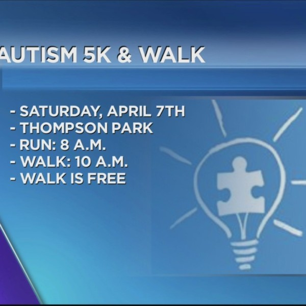 It's Time For The Autism Awareness Walk and 5K