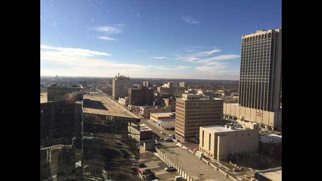 City of Amarillo Skyline
