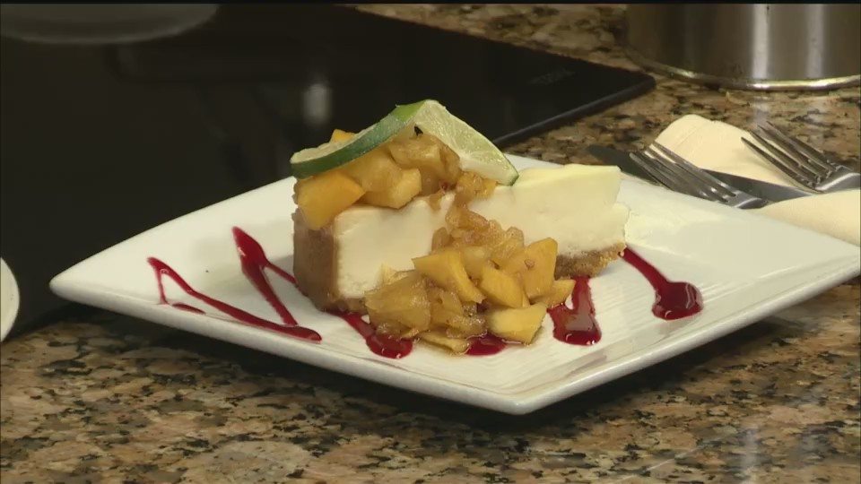Bourbon Tropical Fruit Cheesecake 2