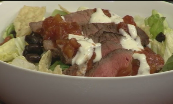 Red, White & Beef Salad2