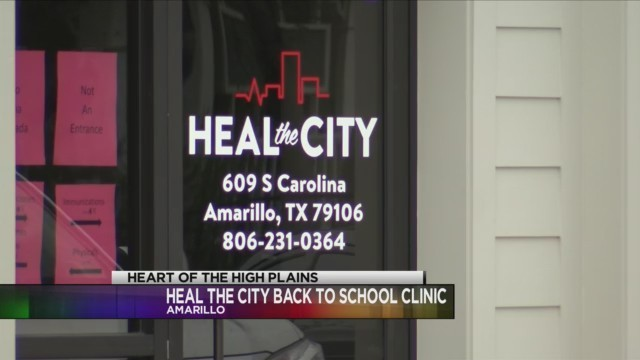 Heal the City Hosts Free Back to School Clinic