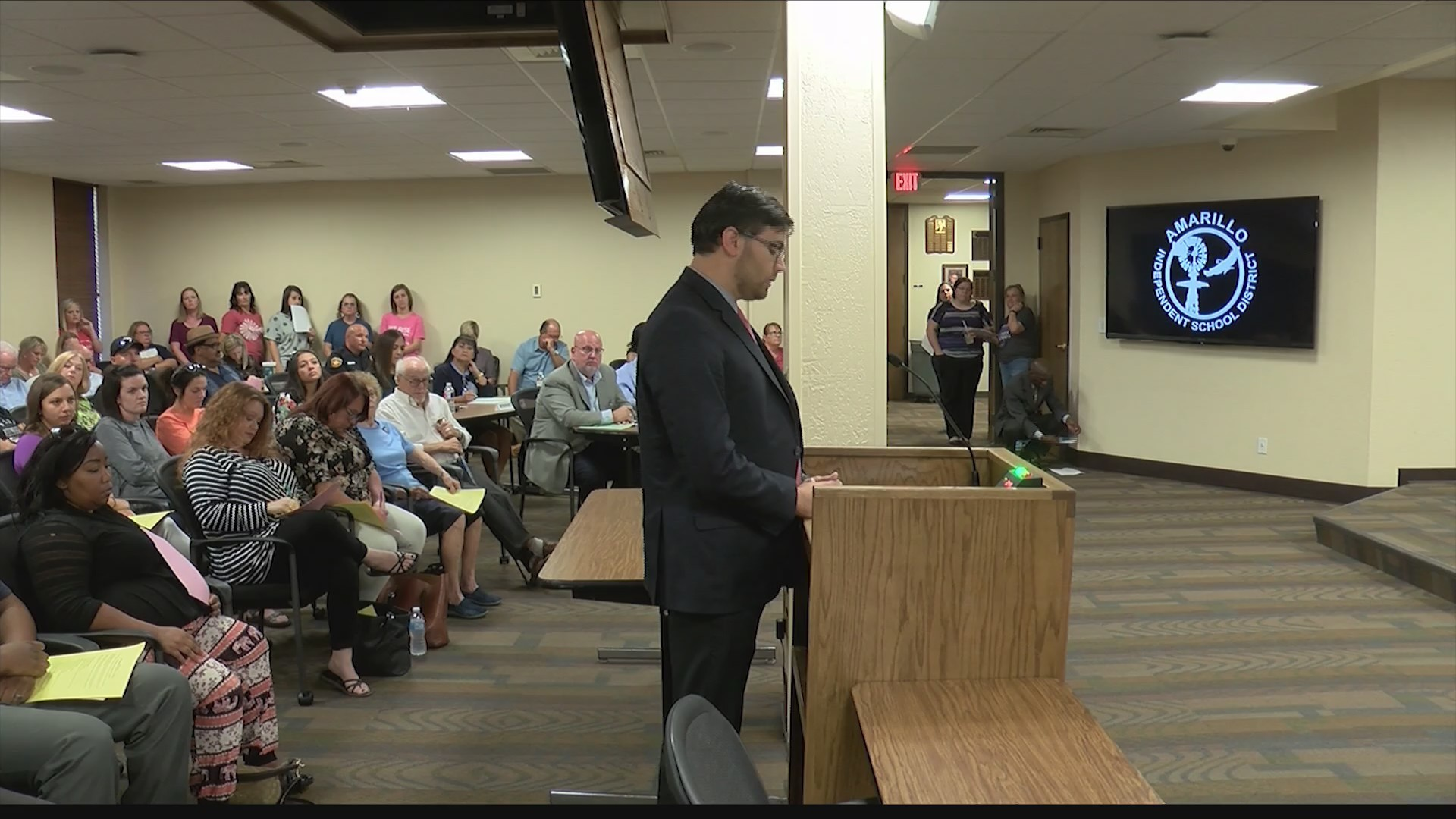 AISD Teachers Address Concerns with Board of Trustees