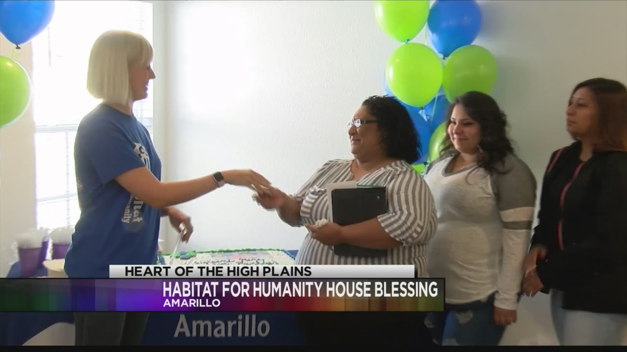 Amarillo Habitat for Humanity Held House Blessing on Saturday