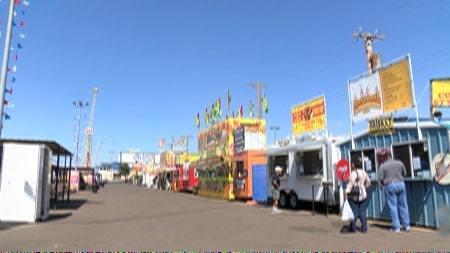 Food at the Tri-State Fair