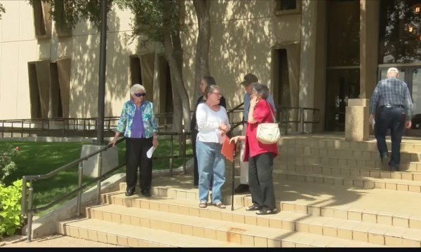 League of Women Voters Protests City Council Meeting Times