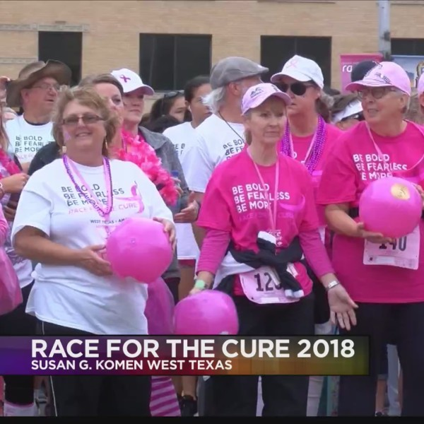 Susan G. Komen West Texas Race for the Cure 2018 Interview