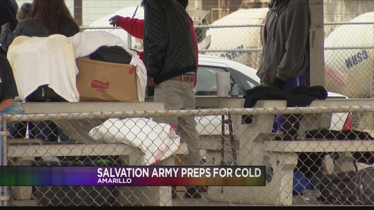 Salvation Army Prepares for Cold