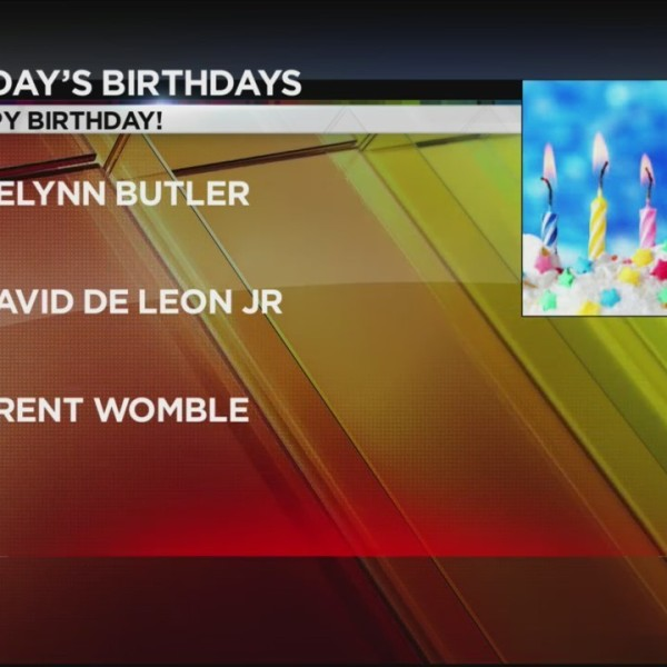 Today's Birthdays 10/1/2018