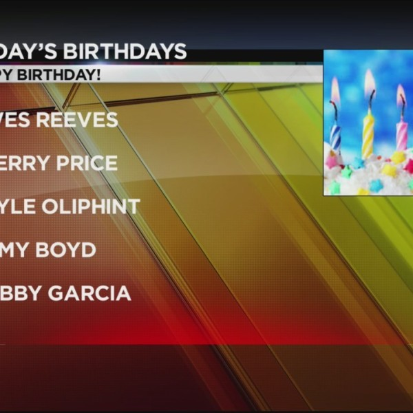 Today's Birthdays 10/2/2018