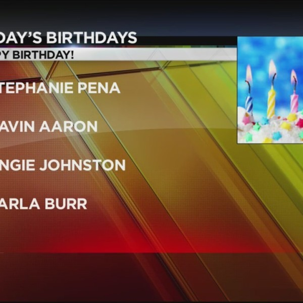 Today's Birthdays 10/3/2018