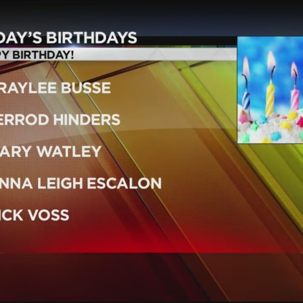Today's Birthdays 10/4/2018
