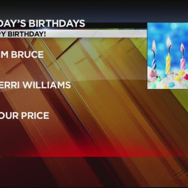 Today's Birthdays 10/8/2018