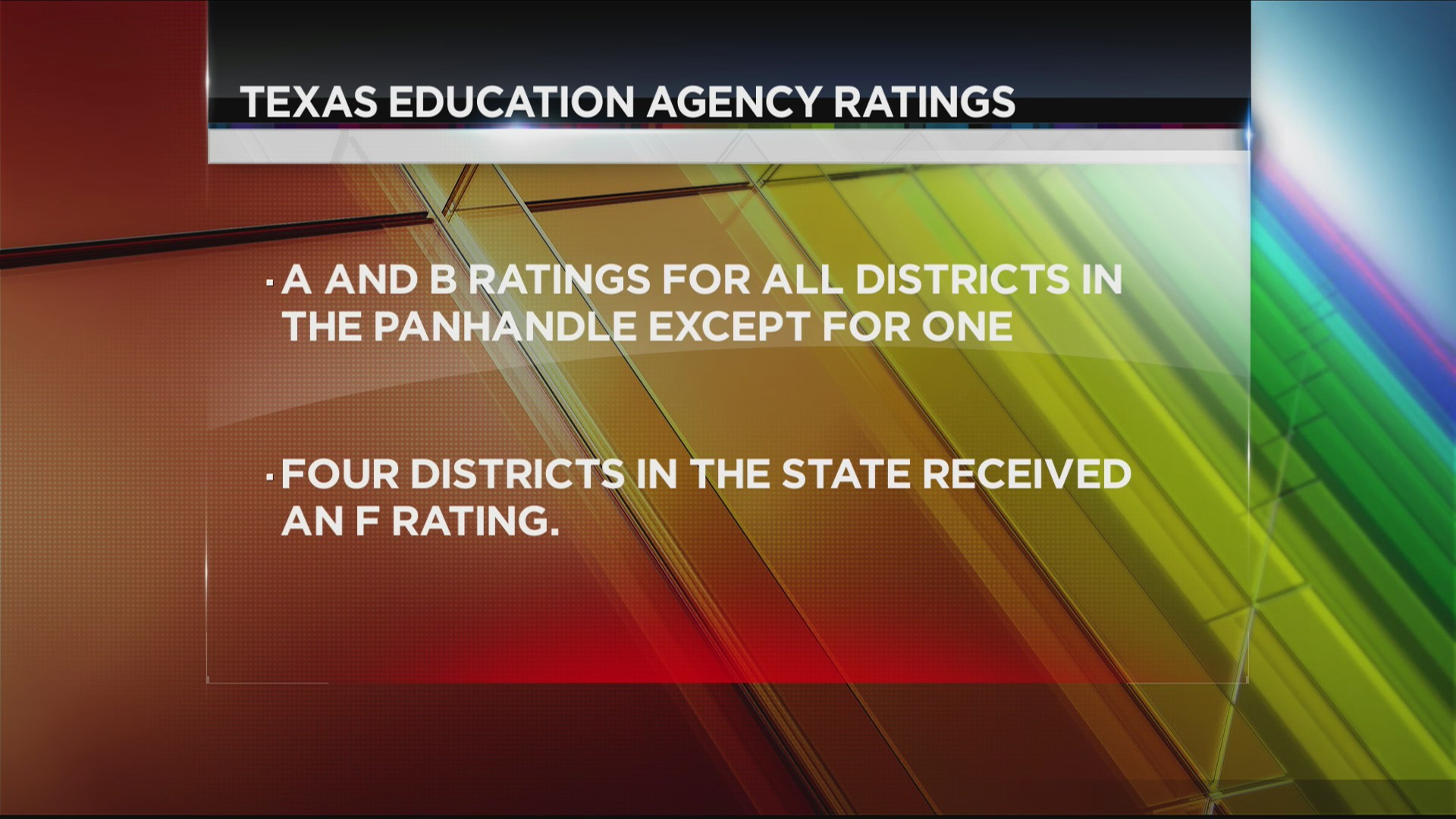 Texas Education Agency Releases Final 2017-2018 Financial Accountability Ratings