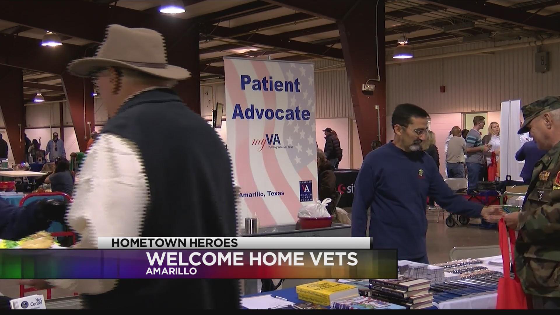 Thomas E. Creek VA Hosts Welcome Home Vets Event