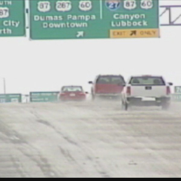 TxDOT Offers Tips for Safe Driving in Winter Weather