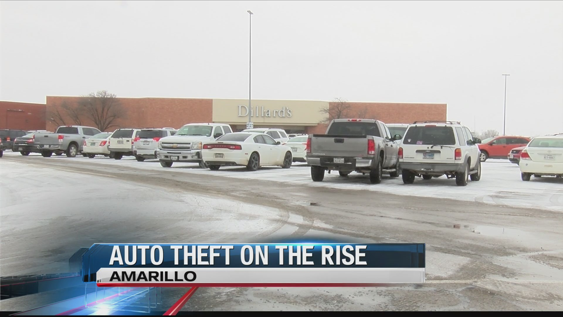 Auto Theft Increases as Weather Decreases