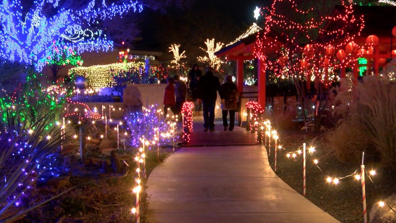 Botanical Gardens Christmas 2020 Amarillo Tx Weather | Wbbkmy