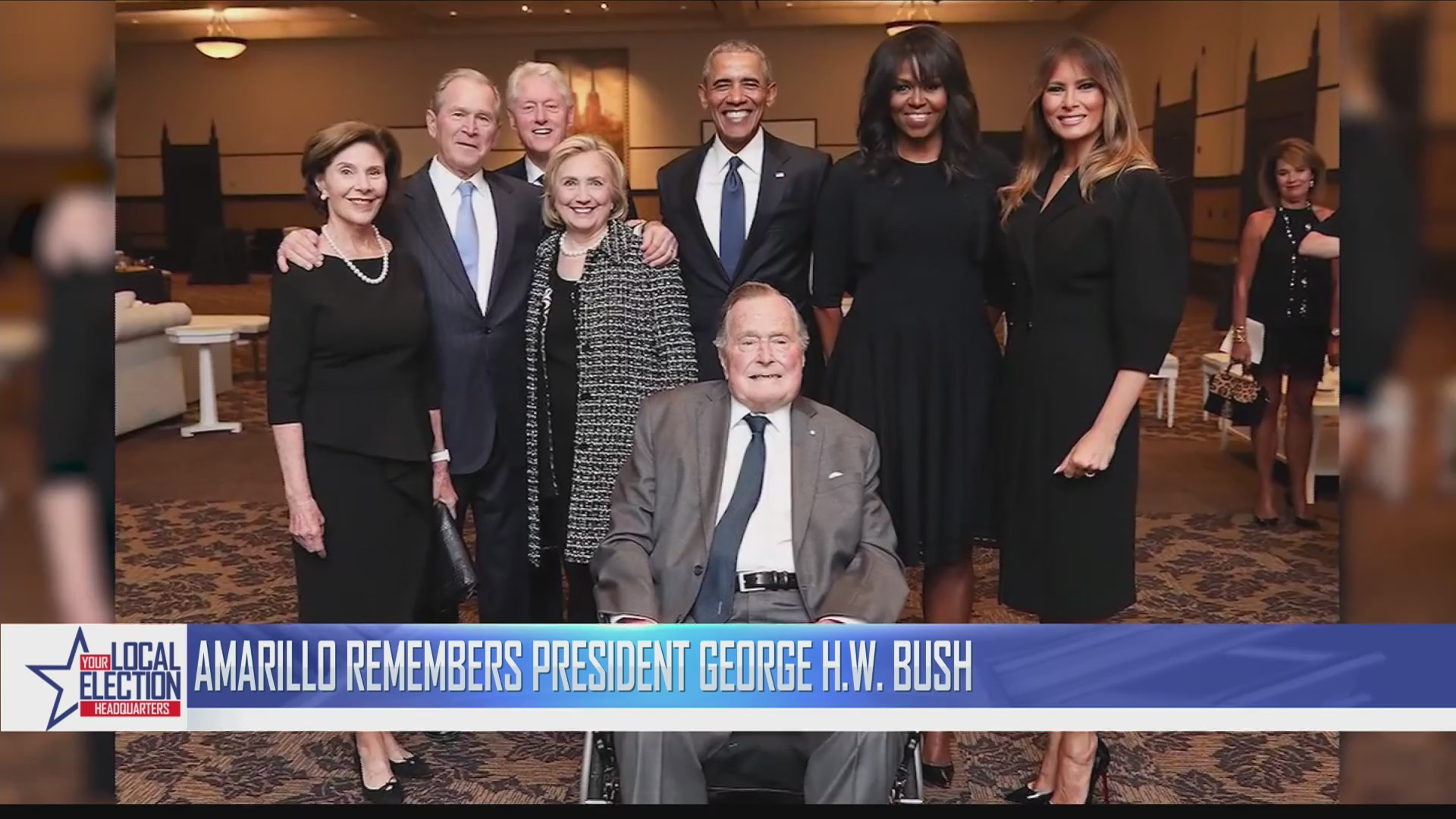 Local Political Leader Reflect on President George H.W. Bush's Life