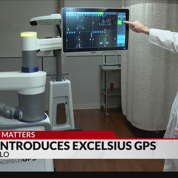 BSA Introduces ExcelsiusGPS Robot to Assist in Spinal Surgery