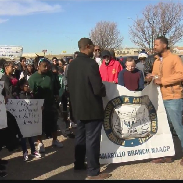 Hundreds Gather for Dr. Martin Luther King, Jr. March in Amarillo