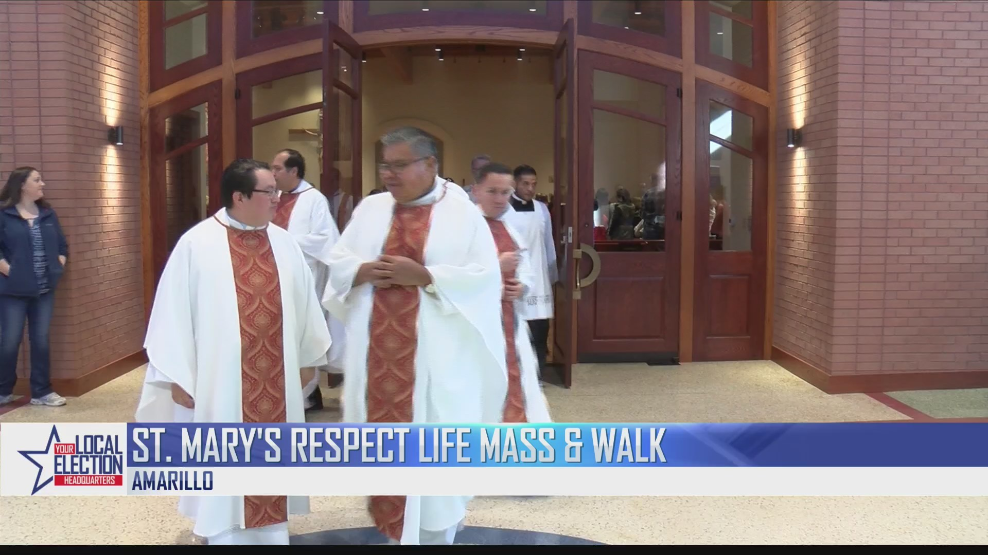 St. Mary's Respect Life Mass and Walk