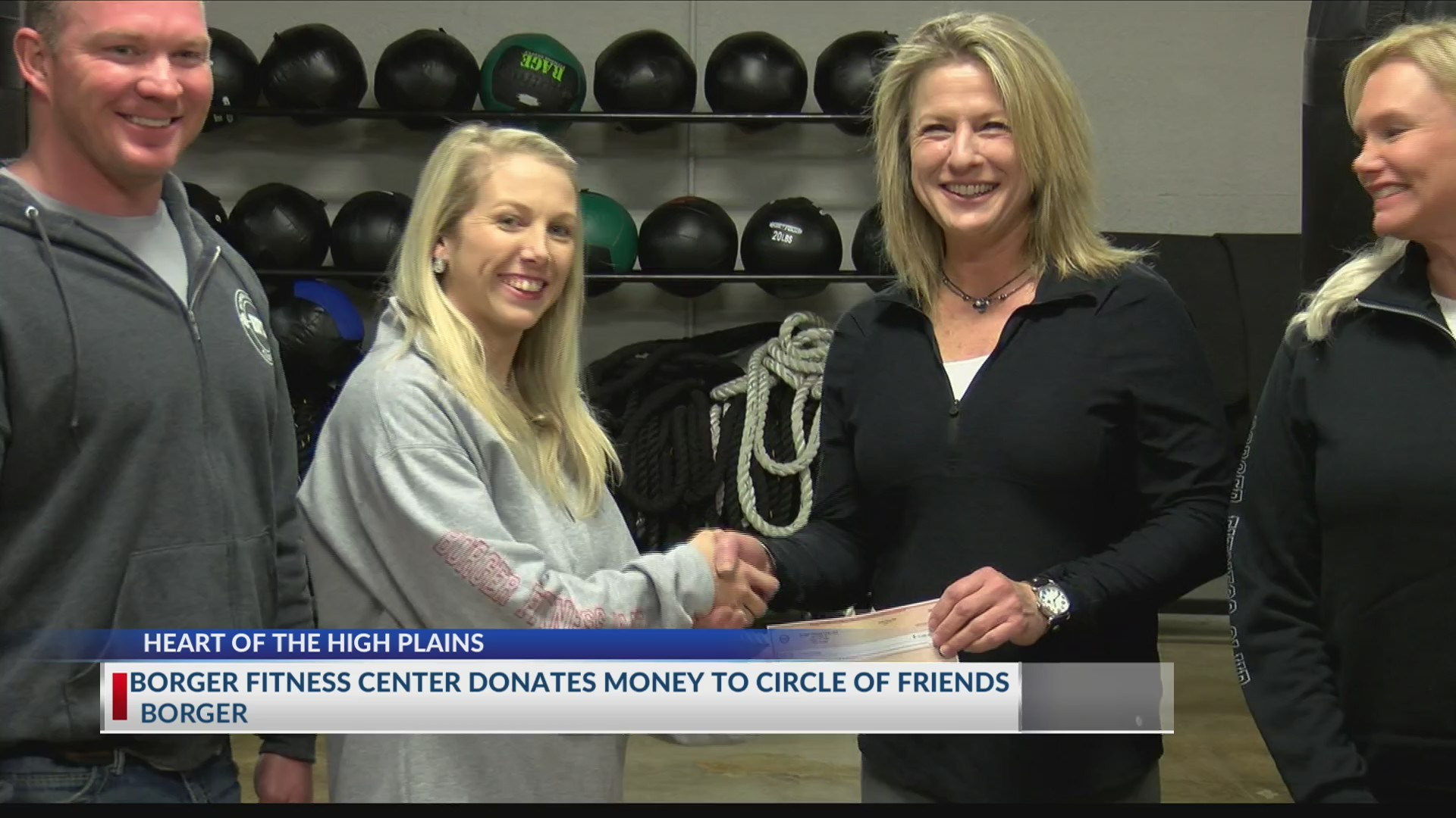 Borger Fitness Center Donates to Circle of Friends