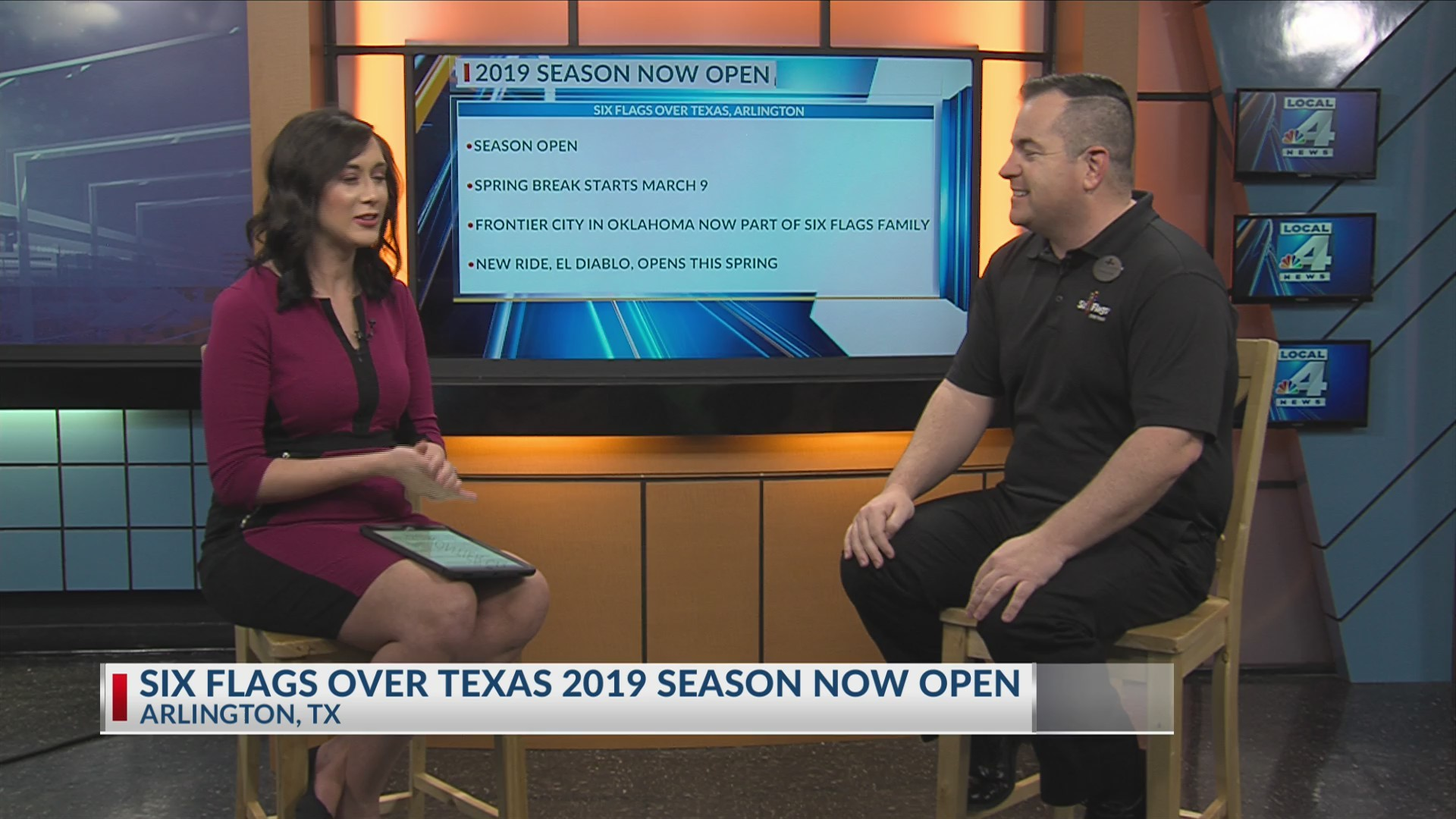 Six Flags Over Texas Getting Ready for 2019 Season
