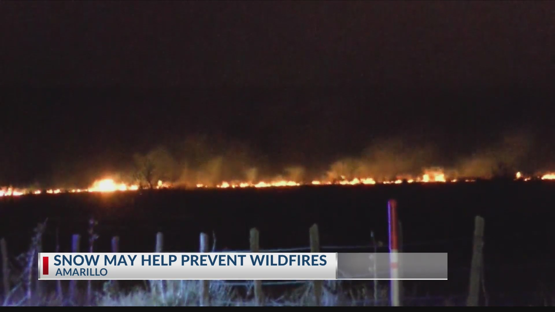 Snow May Decrease Chances of Wildfires