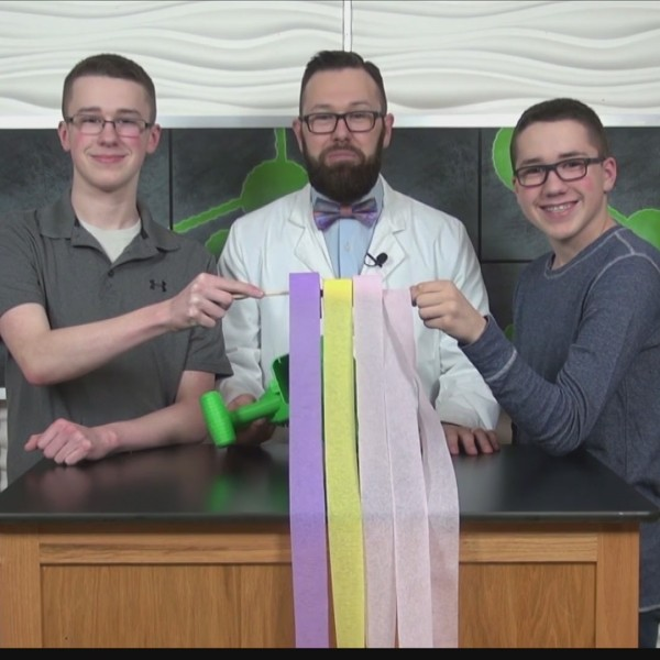 Hooked on Science - Soaring Streamers