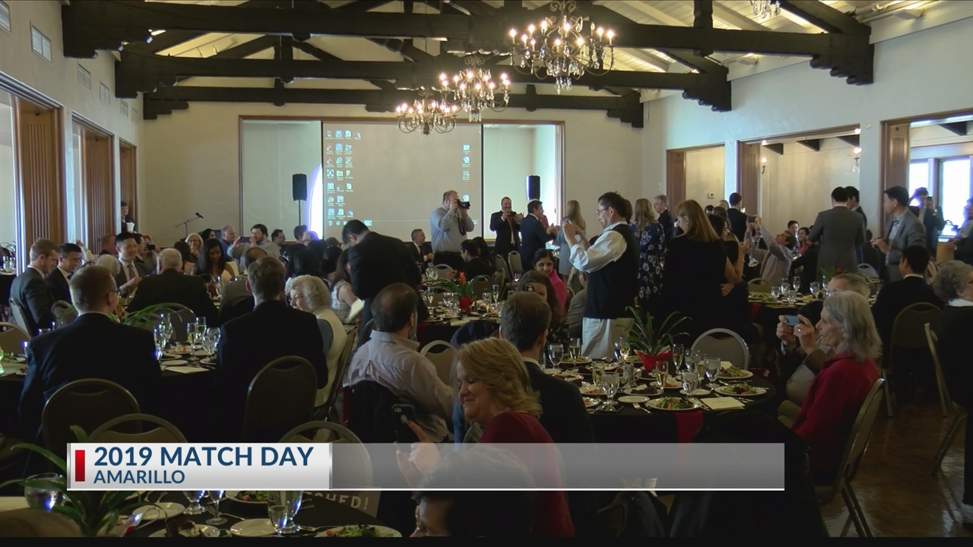 Match Day for Medical Students at Texas Tech University Health Sciences Center