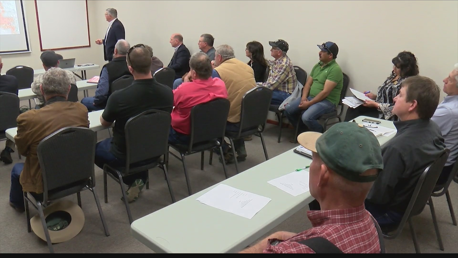 Meeting Held in Clovis to Discuss Cannon Air Force Base Water Pollution