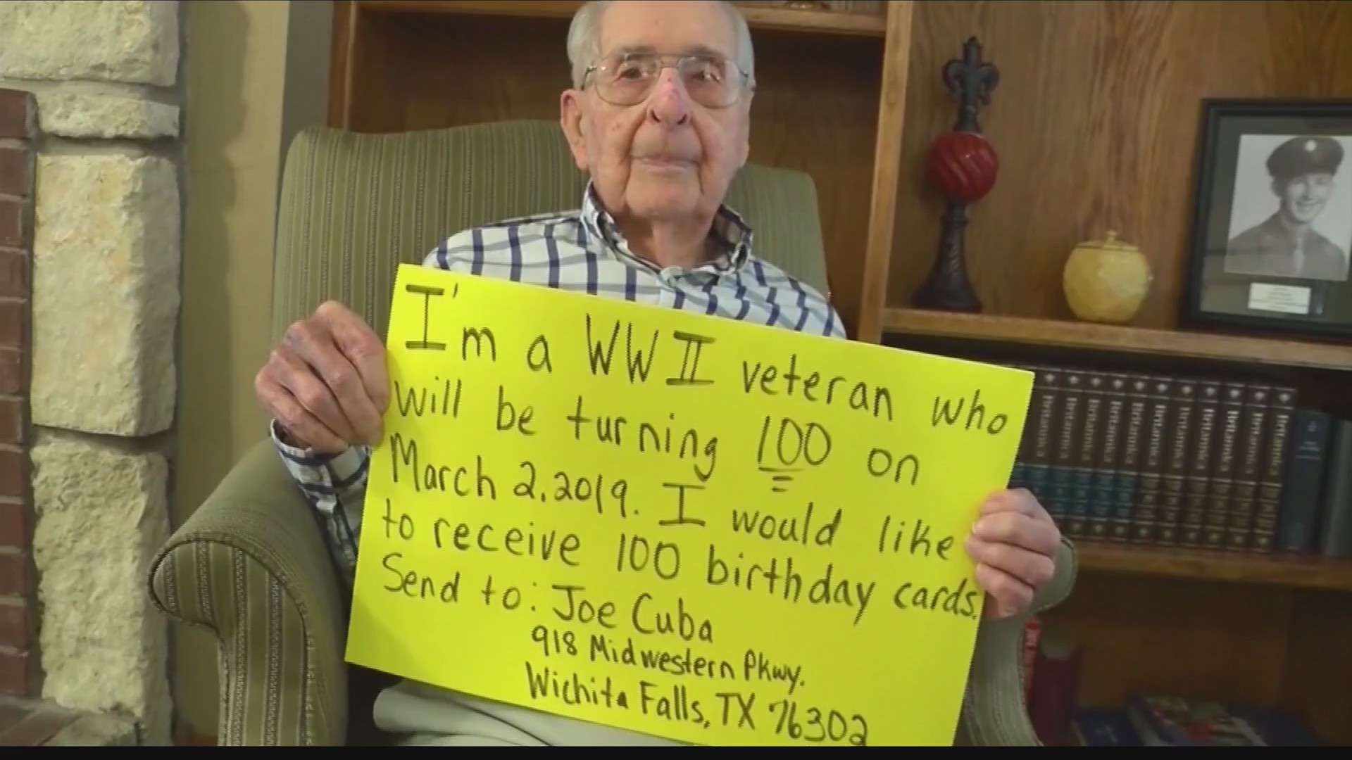 Motorcycle Club Travels to Visit Man for 100th Birthday